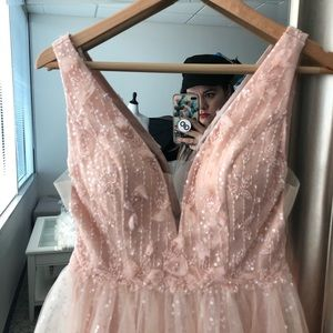 7a40a8ead58 Sherri Hill Dresses - Sherri Hill Blush Pink Beaded Dress 51708